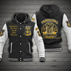 FREEMASONRY HOODED BASEBALL JACKET 8120203