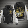 FREEMASONRY HOODED BASEBALL JACKET 8120204