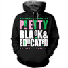 Pretty Black and Educated AKA Sorority T-Shirt
