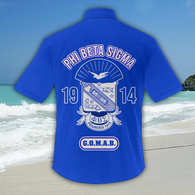 Phi Beta Sigma Hawaiian Shirt