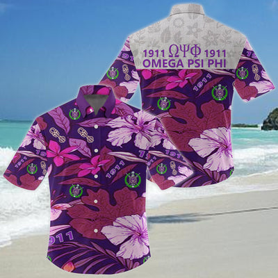 Omega Psi Phi Hawaiian Shirt 972020