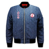 3D ALL OVER DELTA SIGMA THETA BOMBER JACKET