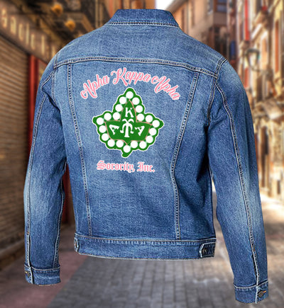 Alpha Kappa Alpha Denim Jacket
