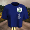 ZETA PHI BETA Women Croptop T-shirt