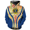 3D ALL OVER PRINTED LIONS CLUBS INTERNATIONAL T SHIRT HOODIE