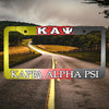 Kappa Alpha Psi Car License Plate Frames