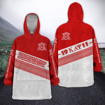 KAPPA ALPHA PSI FLEECE LAZY PAJAMAS HOODIE 21320201