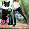 COMBO ALPHA KAPPA ALPHA HOLLOW TANKTOP AND LEGGING SET OUTFIT 30720201