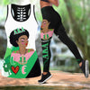 COMBO ALPHA KAPPA ALPHA HOLLOW TANKTOP AND LEGGING SET OUTFIT 30720202