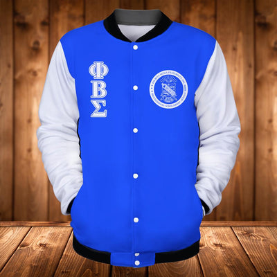 PHI BETA SIGMA BASEBALL JACKET 241220191