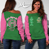ALPHA KAPPA ALPHA WOMEN'S OFF SHOULDER SWEATER 111220191