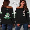 ALPHA KAPPA ALPHA WOMEN'S OFF SHOULDER SWEATER 111220193