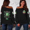 ALPHA KAPPA ALPHA WOMEN'S OFF SHOULDER SWEATER 111220194