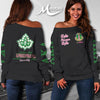 ALPHA KAPPA ALPHA WOMEN'S OFF SHOULDER SWEATER 11122019