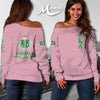 ALPHA KAPPA ALPHA WOMEN'S OFF SHOULDER SWEATER 2