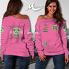 ALPHA KAPPA ALPHA WOMEN'S OFF SHOULDER SWEATER
