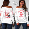 DELTA SIGMA THETA WOMEN'S OFF SHOULDER SWEATER 2
