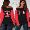 DELTA SIGMA THETA WOMEN'S OFF SHOULDER SWEATER 3