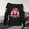 DELTA SIGMA THETA WOMEN'S OFF SHOULDER SWEATER 4