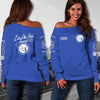 ZETA PHI BETA WOMEN'S OFF SHOULDER SWEATER 2