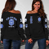 ZETA PHI BETA WOMEN'S OFF SHOULDER SWEATER 171220192