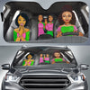 Alpha Kappa Alpha Windshield Shade