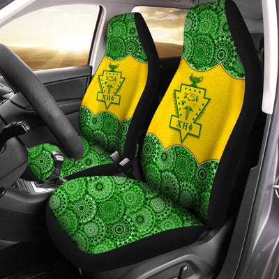 Chi Eta Phi Car Seat Covers