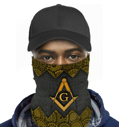 Freemason Cloth Mask