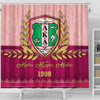Alpha Kappa Alpha Shower Curtains