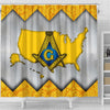 Freemason Shower Curtains