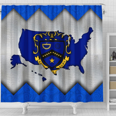 Kappa Kappa Psi Shower Curtains