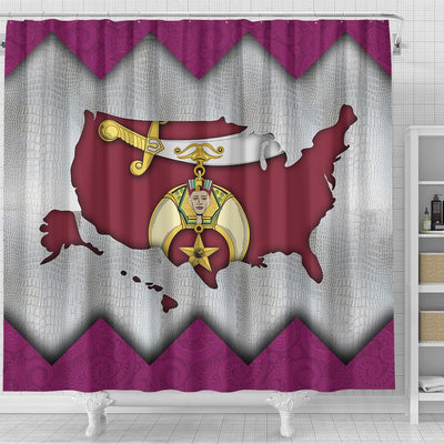 Shriners Shower Curtains