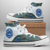 Zeta Phi Beta High Top Shoes
