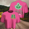 Alpha Kappa Alpha Women Croptop T-shirt 11820201