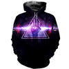 3D ALL OVER FREEMASONRY HOODIE MSN0012