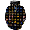 3D ALL OVER FREEMASONRY HOODIE MSN0021