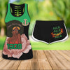 COMBO ALPHA KAPPA ALPHA HOLLOW TANKTOP AND SPORT SHORT OUTFIT 3072020