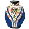 OES 3D ALL OVER PRINTED T SHIRT HOODIE