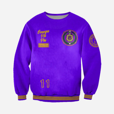 3D ALL OVER HOODIE OMEGA PSI PHI 16720195