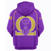 3D ALL OVER HOODIE OMEGA PSI PHI 20720192