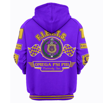 3D ALL OVER HOODIE OMEGA PSI PHI 20720193