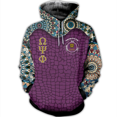3D ALL OVER OMEGA PSI PHI CLOTHES 942020
