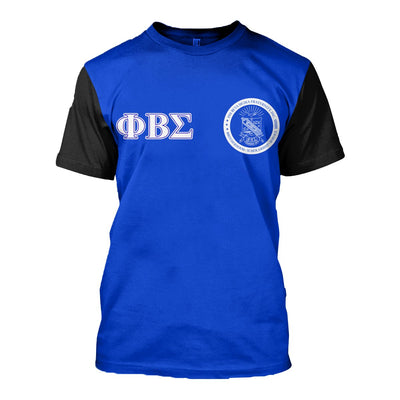 3D ALL OVER PHI BETA SIGMA HOODIE 23720191