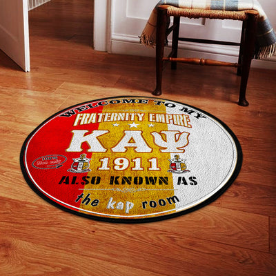Kappa Alpha Psi Round Carpet 30052020