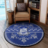 Phi Beta Sigma Round Carpet