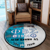 Phi Beta Sigma Round Carpet 30052020