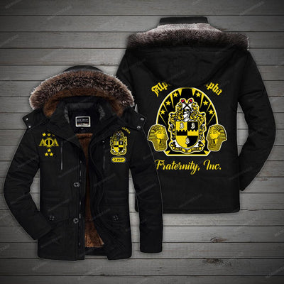 ALPHA PHI ALPHA COTTON FLEECE COAT 3120203
