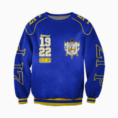 3D ALL OVER SIGMA GAMMA RHO HOODIE 2672019