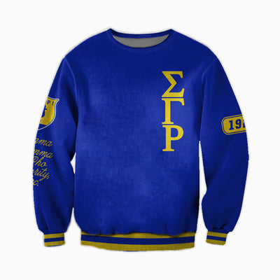3D ALL OVER SIGMA GAMMA RHO HOODIE 2972019