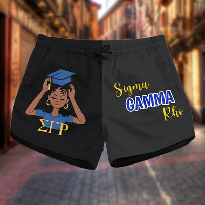 Sigma Gamma Rho women short 1